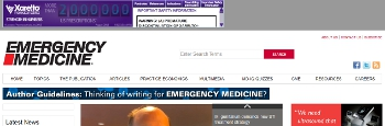 Emergency Medicine web site